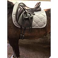 Weatherbeeta Regal Luxe Dressage Saddle Pad Earl Grey Full