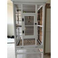 Kerbl Vogelvoliere aus Holz 82x67x151cm