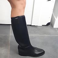 HKM Riding Boots Elastic. Inser tchildren Black 38