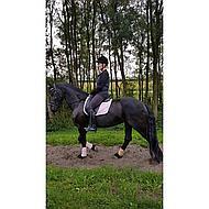 HKM Bottes d'Équitation Femme New Fashion Long Noir 42