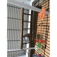 Kerbl Leiter 5-sprossig, Naturholz, 26cm