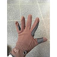Pfiff Fleece Gloves Brown XXS