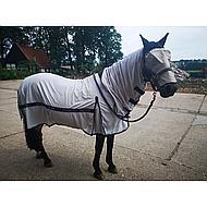 Pfiff Vliegenmasker Weide Zwart-grijs Pony