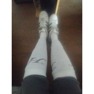 Harrys Horse Socks Uni White 41-43