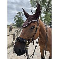 Harrys Horse Filet Anti-Mouches avec Oreilles Marron Full