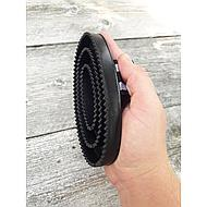 Harrys Horse Curry Comb Deluxe Hard Black