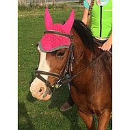 BR Vliegennetje Event Katoen met Oren Bright Pink Pony