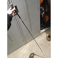 Premiere Dressuurzweep Gemini Antislip Bruin 120cm