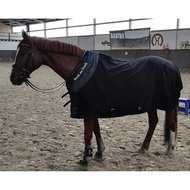 Back on Track Fleecedeken Supreme Zwart 135/185cm