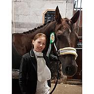 Harrys Horse Vlechtgaren Gewaxed Zwart