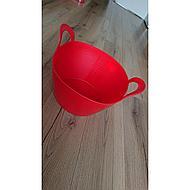 Kerbl FlexBag Flexibele Emmer, 42 liter, rood