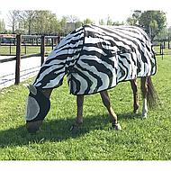Bucas Buzz-Off Full Neck Zebra 115/152