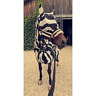 Bucas Buzz-off Fly Mask Zebra M