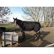 Rambo by Horseware Supreme Turnout 420g Black/orange 115/165
