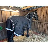 Rambo by Horseware Optimo Hood Stable 200g Black/Orange L