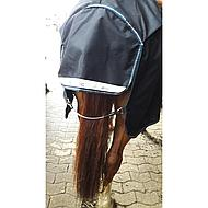 Horseware Elastisch PVC Staartkoord Zwart 60cm