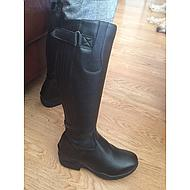 Pfiff Lined Synth. Leather Boots Corby Black 44