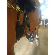 Harrys Horse Beugelriemen Close Contact Bruin 70cm