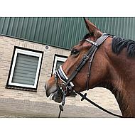Harrys Horse Hoofdstel Chique Bruin Full