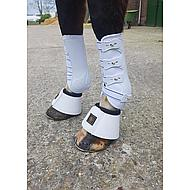 Harrys Horse Protection Boots Grand Prix Front White Full