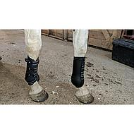 Harrys Horse Protection Boots Grand Prix Front Black Full
