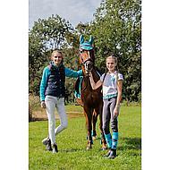 Harrys Horse Tapis de Selle Polyvalent Next Turquoise/Argent Full CP