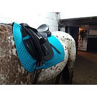 Harrys Horse Tapis de Selle Polyvalent Delux Turquoise Full CP