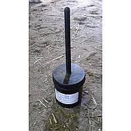 Horka Hoofoil Brush In Pot Black
