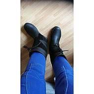 Horka Outdoor Stiefel Greenwich Kurz Schwarz 39