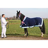Horka Fleece Deken met Borstflap Zwart 155/205