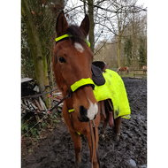 Horka Bridle/rein Covers Reflective Per Pair Yellow