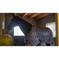 HKM Vliegendeken Zebra 115/165