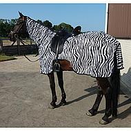 HKM Vliegen Uitrijdeken Zebra 155/205