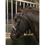 Harrys Horse Bridle Classic Round Brown Full