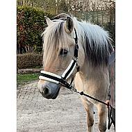 Harrys Horse Halsterset Soft Zwart Cob