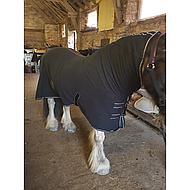 Harrys Horse Fleecedecke Deluxe mit Halssteil Schwar 155/205