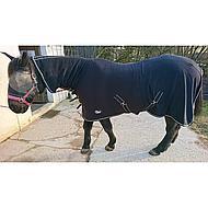 Harrys Horse Fleecerug Deluxe With Neck Black 155/205