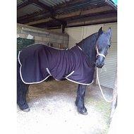 Harrys Horse Jersey Cooler Deken Zwart 175cm