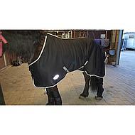 Harrys Horse Couverture Jersey Cooler Noir 165/215