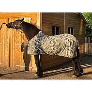 Harrys Horse Flysheet Neck And Surcingles Zebra 145/195