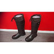 HKM Fashion Stiefel Belmond Winter Dunkelbraun 44