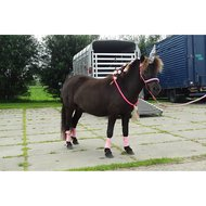 HKM Fleecebandages Mini-shetty Wijnrood 100