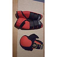 HKM Neopreen Beenbeschermers Colour Grijs/Zwart M