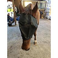 HKM Vliegenmasker Halster Zwart Pony