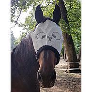 HKM Vliegenmasker met Teddy Funny Wit Pony