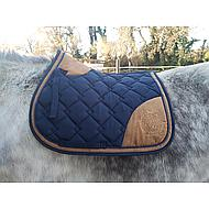 Lauria Garrelli Saddle Pad Champagne Darkgreen PD