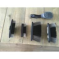 Premiere Tail Brush Soft Grip Black