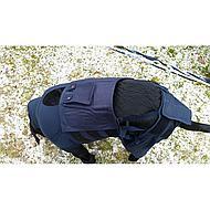 Medical Pet Shirt HLS Achterpoot Mouwtjes Hond Blauw XS