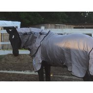Rambo by Horseware Fly Buster Vamoose Oatmeal/black 140/190