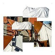 Horseware Waterproof Fly Rug Liner WhitneyNavy 140/190